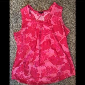 Talbots Pink Cotton Top size 8p